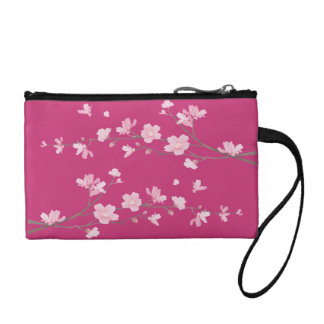 Clutch Tipo Monedero Flor de cerezo