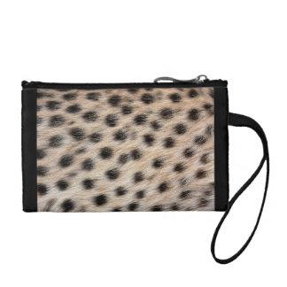 Clutch Tipo Monedero Impresión del guepardo
