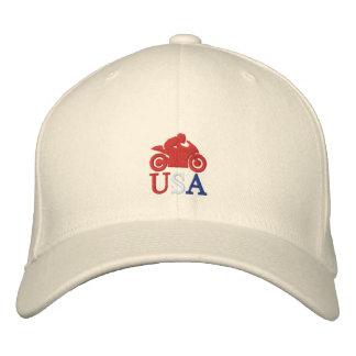 Cm Moto los E.E.U.U. Gorras De Béisbol Bordadas