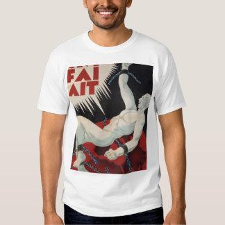 CNT. FAI. 1937) posters del _Propaganda de AIT ( Camisetas