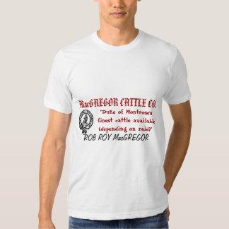 CO2 del GANADO de MacGREGOR Camisetas