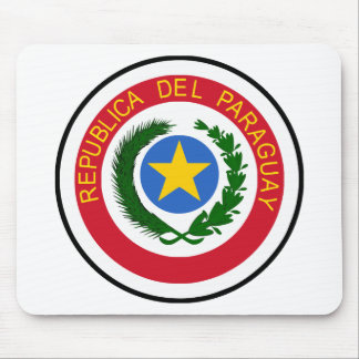 """""""COA de Paraguay """" Alfombrilla De Ratón"""