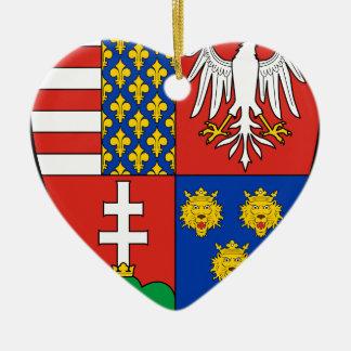 Coa_Hungary_Country_History_Lajos_I_ (1370) Adorno De Cerámica