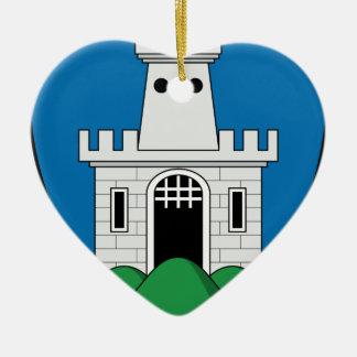 Coa_Hungary_County_Gömör-Kishont_ (historia) Adorno De Cerámica