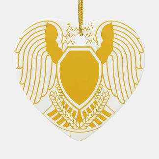 Coat_of_arms_of_the_Federation_of_Arab Adorno De Cerámica