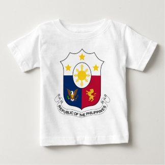 Coat_of_arms_of_the_Philippines_ (1946-1978) Camiseta De Bebé