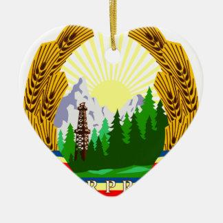 Coat_of_arms_of_the_Popular_Republic_of_Romania_ Adorno De Cerámica