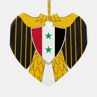 Coat_of_arms_of_United_Arab_Republic_ (Siria Adorno De Cerámica