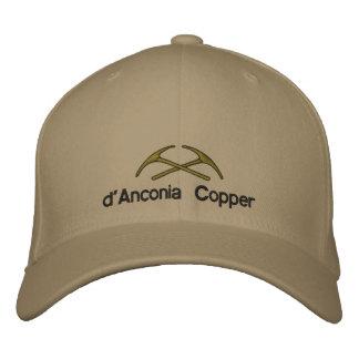 cobre del d'Anconia Gorra Bordada