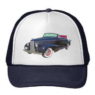 Coche 1938 del lujo de Cadillac Lasalle Gorros Bordados
