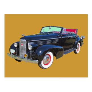 Coche 1938 del lujo de Cadillac Lasalle Postal