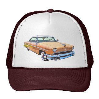 Coche 1955 del lujo de Lincoln Capri Gorras De Camionero