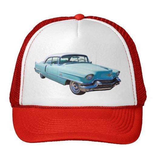 Coche 1956 del lujo de Deville Cadillac del sedán Gorra