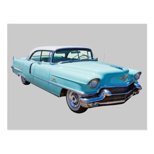 Coche 1956 del lujo de Deville Cadillac del sedán Postal