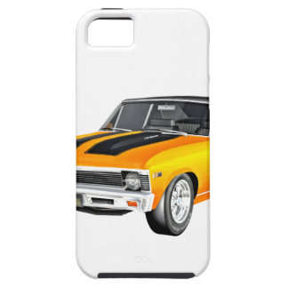 Coche 1968 del músculo del oro funda para iPhone SE/5/5s