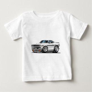 Coche 1970-72 del blanco del desafiador camiseta