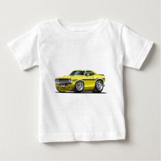 Coche amarillo 1970-72 del desafiador camiseta