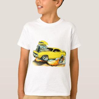 Coche amarillo 1970 de Plymouth Cuda Camiseta