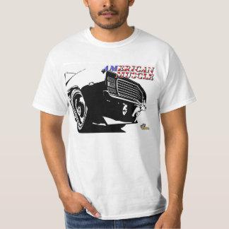 Coche americano del músculo camisas