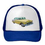 Coche antiguo 1955 del Bel Air de Chevrolet Gorros Bordados