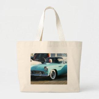 Coche auto de Collctor de la turquesa clásica Bolsa Lienzo