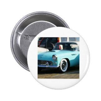 Coche auto de Collctor de la turquesa clásica Pins