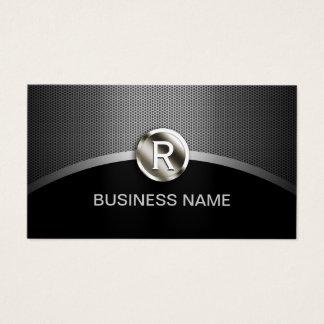 Coche automotriz de detalle auto del monograma del tarjeta de negocios