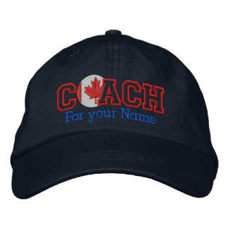 Coche canadiense personalizado con su nombre gorra bordada