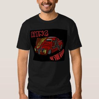 Coche de carreras camisetas
