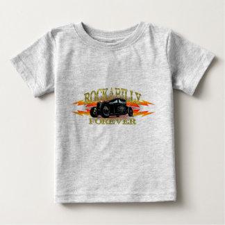 Coche de carreras del Rockabilly del engrasador Camiseta