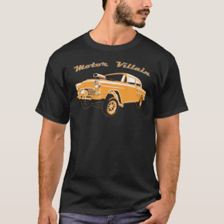 Coche de carreras viejo del coche de carreras de camiseta