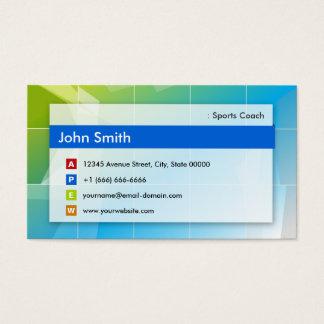 Coche de deportes - multiusos moderno tarjeta de negocios