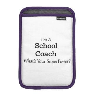 Coche de la escuela funda para iPad mini
