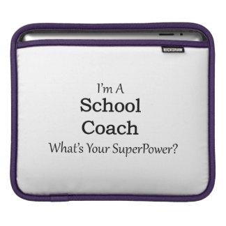 Coche de la escuela funda para iPads