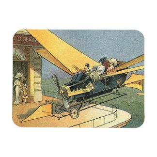 Coche del convertible de Steampunk de la ciencia Iman De Vinilo
