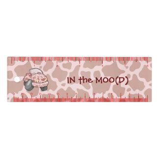 Coche del MOO regla de 6 pulgadas
