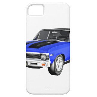 Coche del músculo de 1968 azules funda para iPhone SE/5/5s
