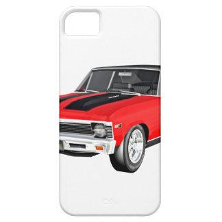 Coche del músculo de 1968 rojos funda para iPhone SE/5/5s