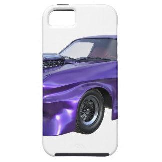 Coche del músculo de 2016 púrpuras funda para iPhone SE/5/5s