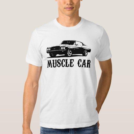 coche del músculo del vintage camiseta