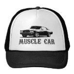 coche del músculo del vintage gorras