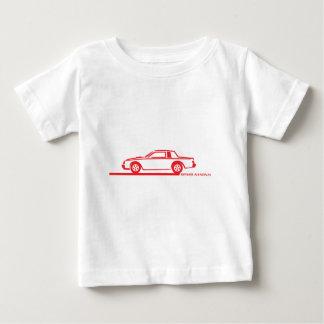 Coche del rojo de Buick Grand National Camisetas
