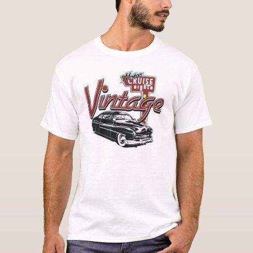 Coche del vintage camiseta