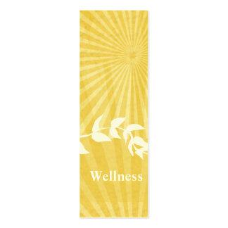 Coche espiritual de la meditación tarjeta de negocio