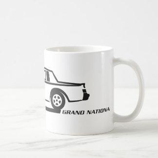 Coche negro de Buick Grand National Taza De Café