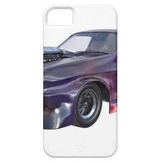 Coche púrpura 2016 del músculo de la galaxia funda para iPhone SE/5/5s