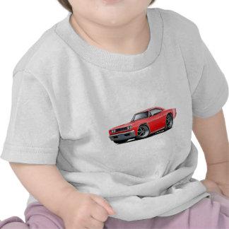 Coche Rojo-Blanco 1968 del RT de la corona Camiseta