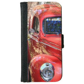 Coche rojo clásico carcasa de iPhone 6