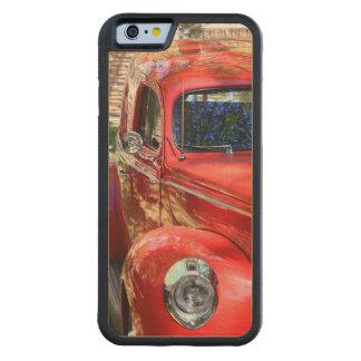 Coche rojo clásico funda de iPhone 6 bumper arce