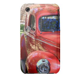Coche rojo clásico funda para iPhone 3 de Case-Mate